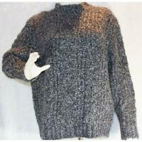 Women's Caslon Chunky Cable Knit Turtleneck Sweater Retail $80 Size Large