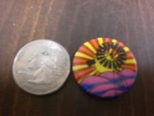 VINTAGE 1960's PSYCHEDELIC PIN BACK BUTTON