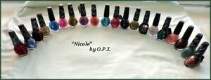 NEW DiscontInued NICOLE OPI Glitter Solid NAIL POLISH   CHOOSE YOUR COLOR