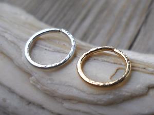 Septum Ring,Nose Hammered piercing ring,cartilage,helix,tragus,ear hoop earring