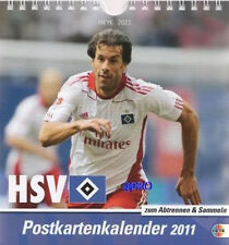 HAMBURGER SV - 12 Postkarten + Kalender + 2011 + NEU +