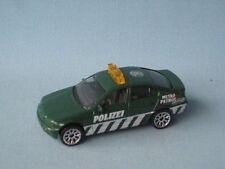 Matchbox BMW 3 Series 323i Police Car Polizei Dark Green 50th Roof Logo