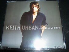 Keith Urban Once In A Lifetime Rare Australian CD Single - NEW