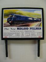 The New Midland Pullman - Model Railway Billboard - N, OO & O Gauge