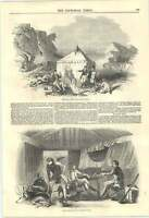 1846 Benjamin Edgington Tents For Sportsmen And Mariners Deer Stalkers