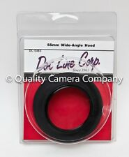 55mm Wide-Angle Rubber Lens Hood (Dot Line Corp.) DL-0483 **NEW**