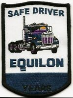 """Equilon """"safe driver"""" driver patch 4-1/8X2-5/8 in"""