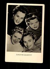 Sunshine Quartett VEB Verlag Postkarte ## BC 97721