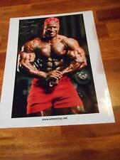 Bodybuilder SHAWN RAY muscle ORIGINAL Signed AUTOGRAPHED photo