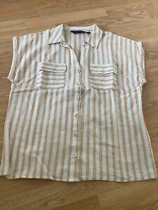 Ladies Dorothy Perkins Short Sleeved Blouse Size 12