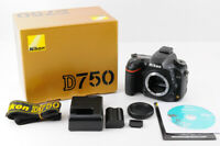 【Near Mint】NIKON D750 24.3MP Full Frame Digital SLR Camera +BOX From JAPAN