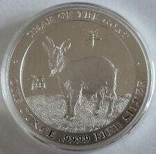 Baird and Co Year of the GOAT 1 oz .9999 Silver Bullion Round