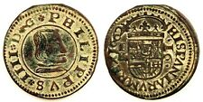 Spain-Felipe IV. 16 Maravedis. 1662. Segovia. MBC+/VF+. Cobre 3,1 g.