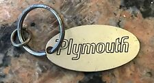 1960S 70S Taiwan Made Plymouth Mopar Keychain 2 Inch MoPar