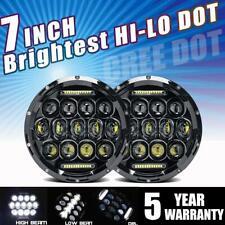 DOT 7 inch Round LED Headlight...