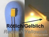 SMD LED 0603 SUPER GOLDEN WHITE RÖTLICH-GELBLICH +Cu-Draht reddish-yellowish