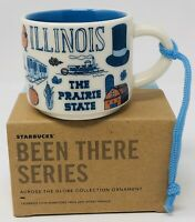 Starbucks Been There Series Ornament Illinois 2 oz Demi Cup