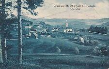 Nr.9847  PK Gruss aus St. Oswald bei Haslach 1935  O.Ö.