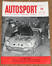 Autosport 9/10/59* PARIS SALON SHOW REPORT - New MGA 1600 ROAD TEST - OULTON