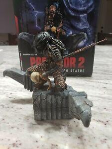 "Predator 2 Triumphant 10"" Limited Edition Statue by Palisades Toys 2003 NEW MIB"