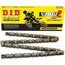 DID D.I.D. DZ-2 520 120 LINK GOLD MOTOCROSS CHAIN RM-Z YZ SX-F KXF 450 250 D.I.D