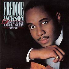 FREDDIE JACKSON : DON'T LET LOVE SLIP AWAY / CD (CAPITOL RECORDS CDP 7 48987 2)