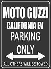 Parkplatz - Parking Only - Moto Guzzi California EV - Parkplatzschild