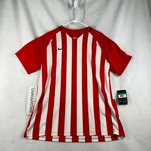 NIKE MEN'S STRIPED Dri-FIT DIVISION III SOCCER JERSEY X-LARGE
