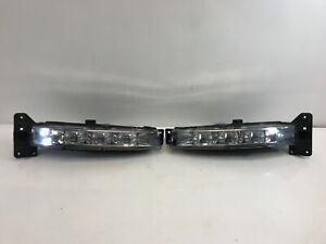 2015-2021 Dodge Charger Fog Light Pair Left Right LED DRL Driving OEM Tab-Good