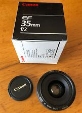 Objectif Canon EF 35 mm f/2