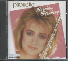 BERDIEN STENBERG - Pirouette CD Album 12TR 1987 (POLYDOR) WEST GERMANY