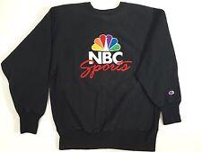 Vtg Champion REVERSE WEAVE COMPANY Embroidered NBC SPORTS PROMO Sweat Shirt L Lg