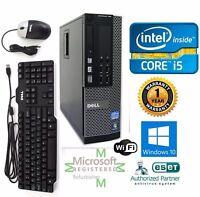 Dell Computer 7010 Core i5-3470 SFF PC 3.20Ghz 8GB Ram 1TB HD Windows 10 HP 64