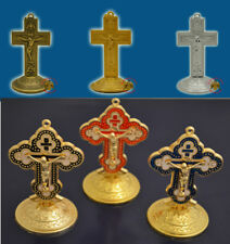 Orthodox Byzantine Standing Cross Crucifix Orthodoxes Kreuz Kruzifix 2 Styles