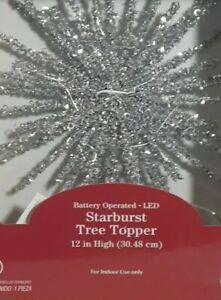 """Tree Topper 12"""" Starburst"""