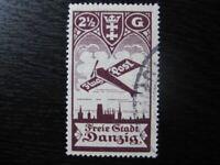 DANZIG GDANSK Mi. #206 scarce used stamp! CV $50.50