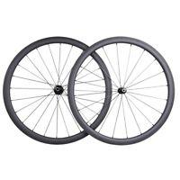 25mm wide 38mm clincher wheel Sapim CX-RAY 700C Road Bike 3K Matt Novatec Basalt