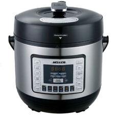 Heller 6L Electric Digital Slow Pressure Cooker Stainless Steel 1000W