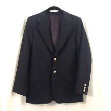 Boys Talbots Kids Classic Navy Blue Blazer 14