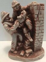 Georgia Marble Limited Edition #79 of 3000 Firefighter Fireman rescuing baby