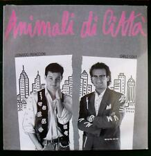 Leonardo Pieraccioni Carlo Conti ANIMALI DI CITTÀ vinile LP disco SIGILLATO