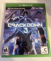Crackdown 3 (Xbox One, 2019) With Case
