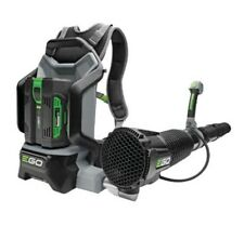 EGO Cordless Backpack Leaf Blower c/w 5Ah Battery & Fast Charger, 5yr Warranty