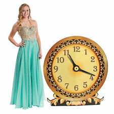 Timeless Glamour Clock Cardboard Stand-Up - Party Decor - 1 Piece