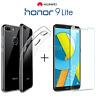 COVER per Huawei Honor 9 Lite CUSTODIA in TPU + PELLICOLA VETRO TEMPERATO
