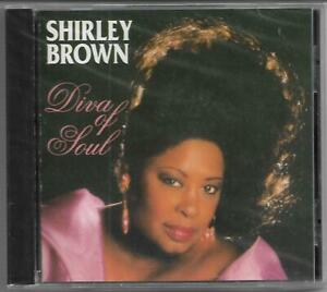 """Shirley Brown """"Diva of Soul"""" CD 1995 Dome Records/UK NEU/OVP/NEW/Sealed"""
