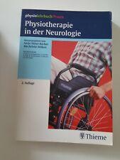 Physiotherapie in der Neurologie Hüter-Becker Dölken Fachbuch Lehrbuch Thieme