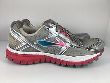 BROOKS Ghost 8 Women US 7.5 Silver Mesh Athletic CrossFit Running Trainers  J38