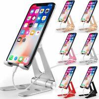 Universal Aluminum Desktop Desk Stand Holder Mount For Cell Phone &Tablet Pad