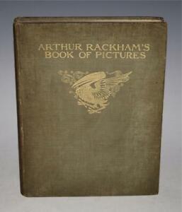 Arthur Rackham's Book of Pictures Heinemann 1913 Elves Jack & the Beanstalk 1st